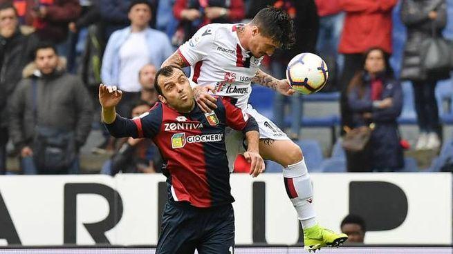 Genoa-Cagliari (LaPresse)