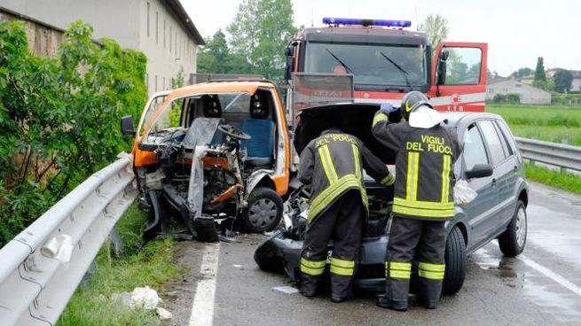 Incidente stradale e Noviglio