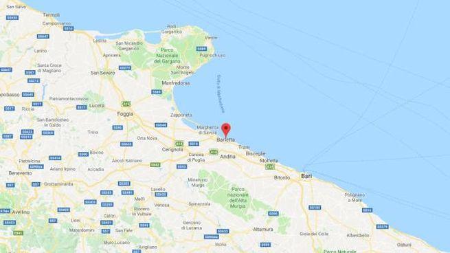 Puglia, scossa di terremoto vicino Barletta