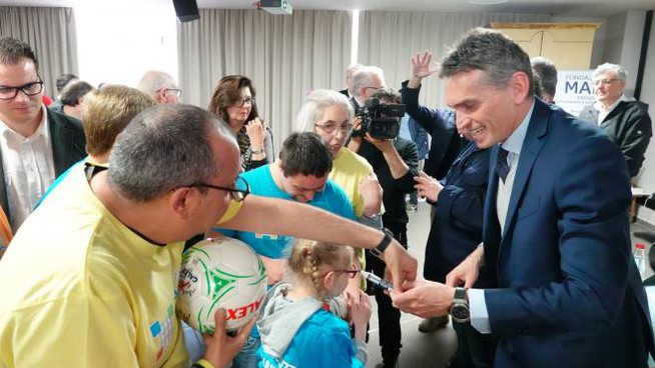 Festa per l'arrivo di Irrati alla Fondazione Maic (Acerboni/Fotocastellani)