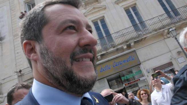 Il vicepremier e ministro dell'Interno, Matteo Salvini (Ansa)