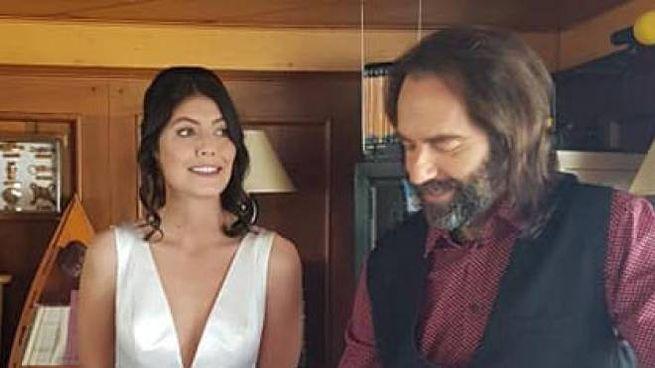 Alessandra Mastronardi e Neri Marcorè