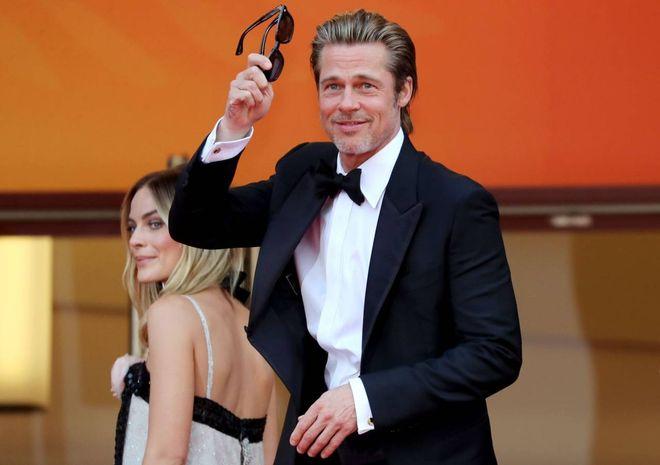 Cannes s'incendia con Pitt-DiCaprio, Chiara Ferragni col nuovo look