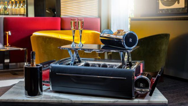 La Champagne Chest firmata Rolls-Royce - Foto: press Rolls-Royce