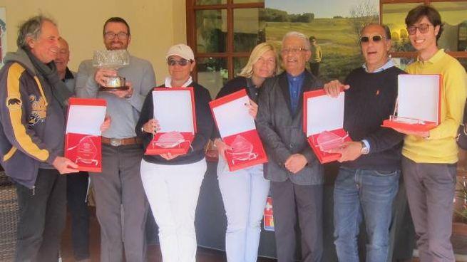 I vincitori del Michelle Lagorio Challenge al Golf Club Tirrenia