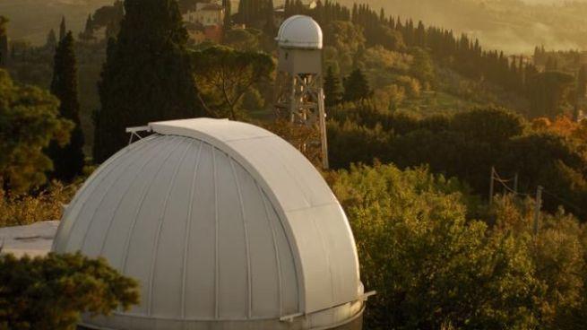 L'osservatorio di Arcetri (dalla pagina Fb)