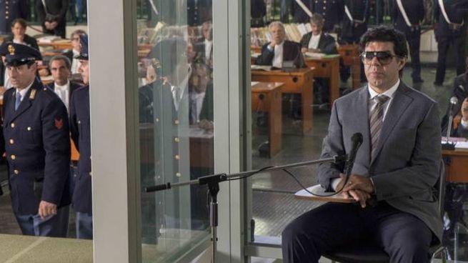 Pierfrancesco Favino in una scena del film 'Il traditore'
