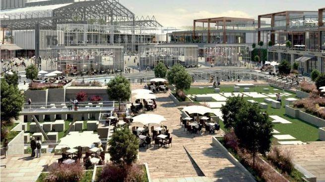 La nuova piazza Pompei