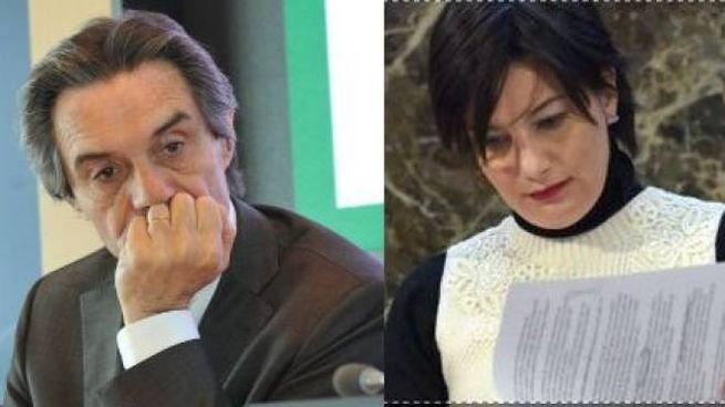 Attilio Fontana e Lara Comi