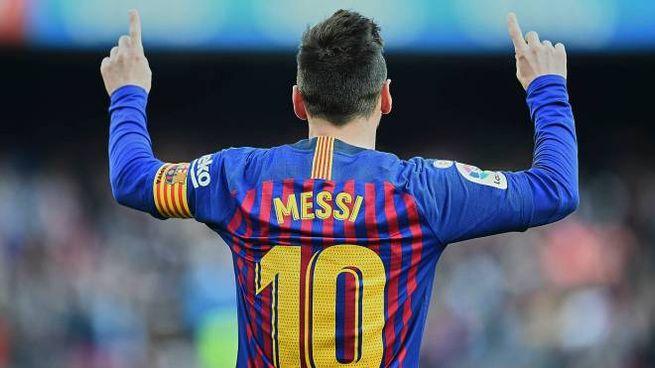 Lionel Messi, 31 anni