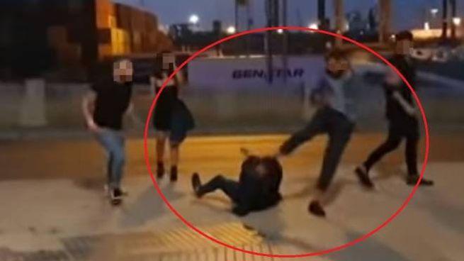 Un fermo immagine del video pubblicato da Diario de Cadiz (Youtube)