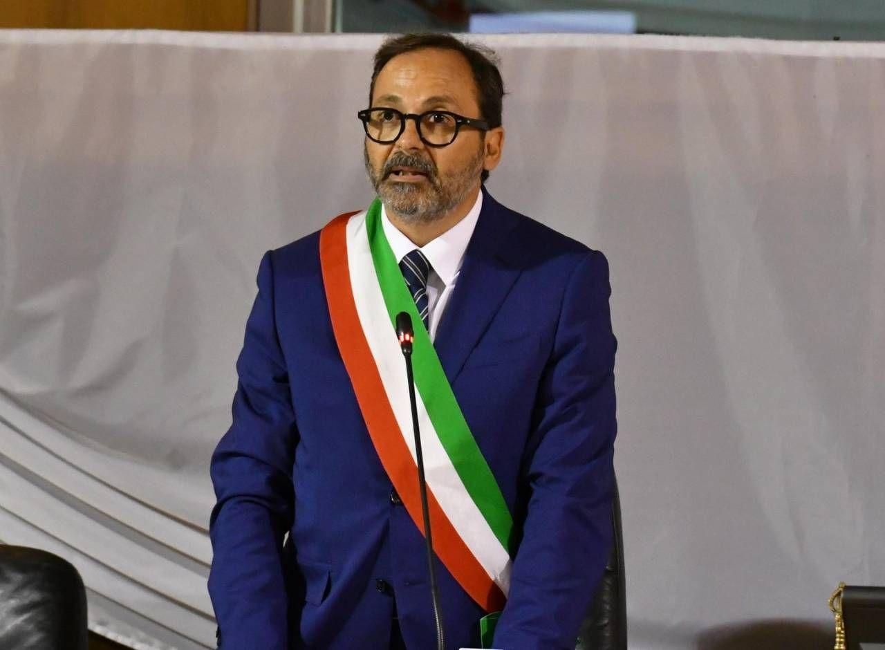 Il sindaco Persiani