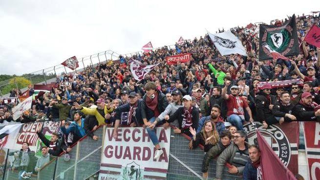 La curva dell'Arezzo