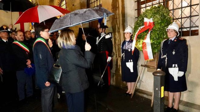 La commemorazione della strage dei Georgofili (foto Gianluca Moggi/New Press Photo)