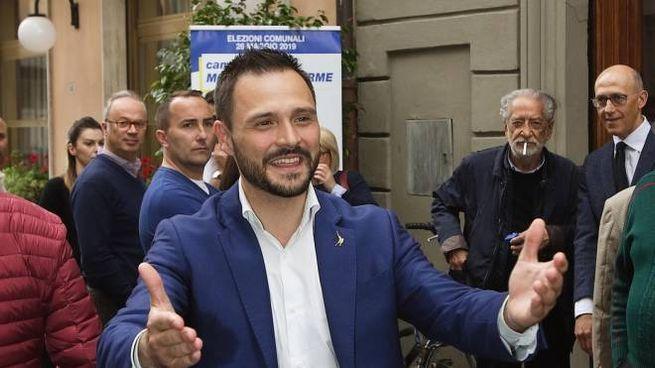 Luca Baroncini, neo-sindaco di Montecatini (Goiorani)