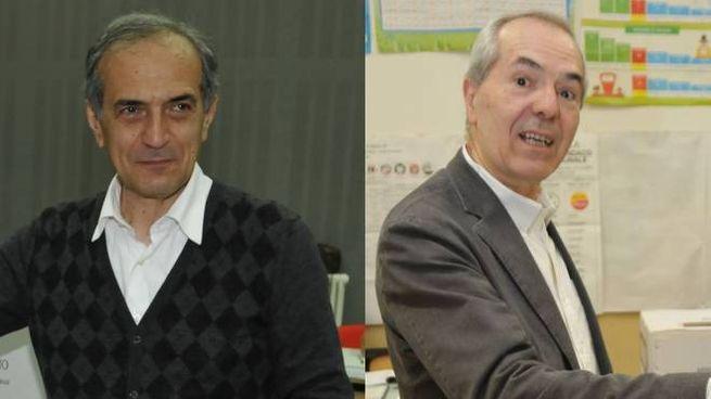Forlì al ballottaggio, sfida tra Gian Luca Zattini e Giorgio Calderoni (Frasca)
