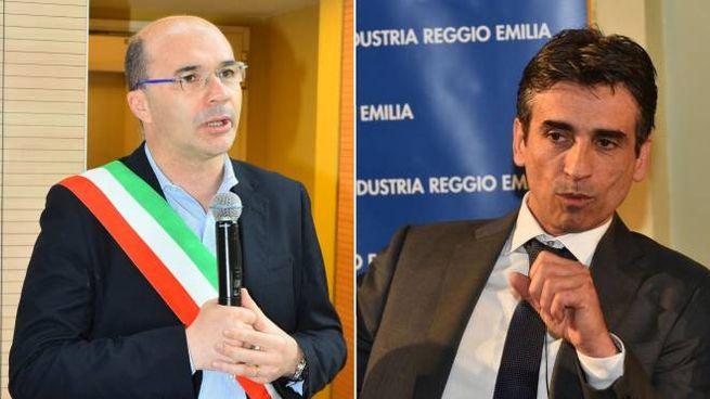 Elezioni Reggio Emilia 2019, Vecchi e Salati al ballottaggio (Foto Artioli)