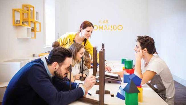 Lo spazio interattivo creato dal Museo per stimolare la creatività