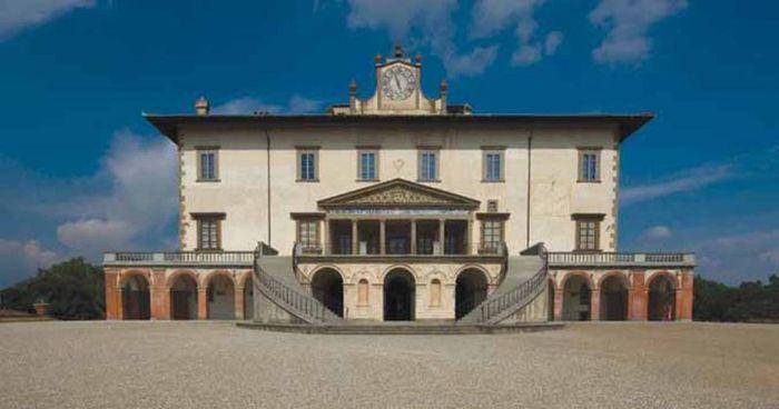 L'elegante Villa medicea ospita due nuclei museali