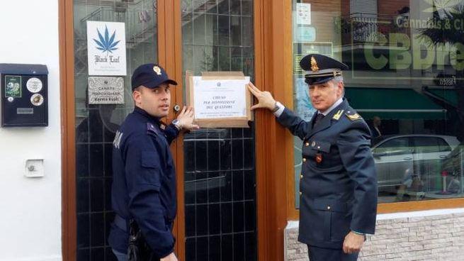 Civitanova, il cannabis shop chiuso dal questore di Macerata