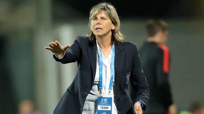 La ct della nazionale femminile Milena Bertolini