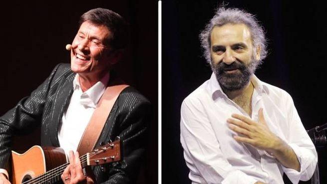Gianni Morandi e Stefano Bollani