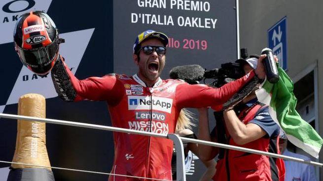 Danilo Petrucci, gioia incontenibile (Ansa)