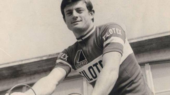 Fabrizio Fabbri negli anni da ciclista (foto Noi di Qua)