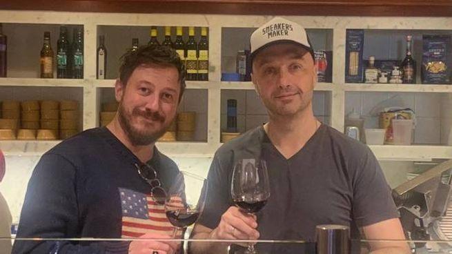 Tommaso Mazzanti e Joe Bastianich