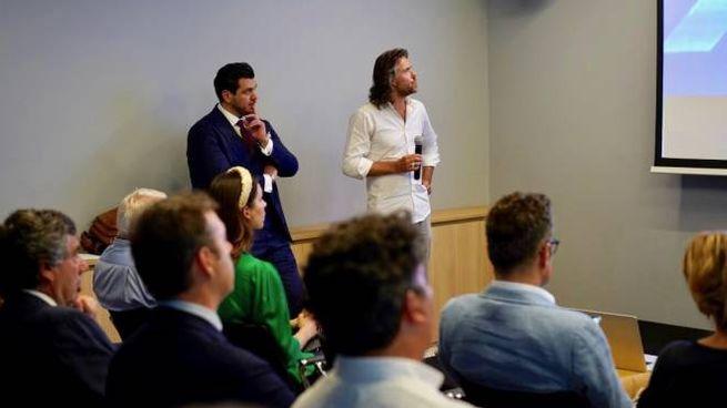 Ptrick de Zeeuw e Nazzareno Mengoni. co founder Startupbootcamp in Italia