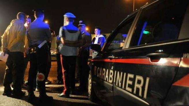 Un'immagine d'archivio di carabinieri
