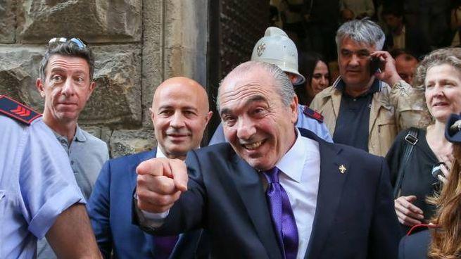 Rocco Commisso nuovo patron viola (Fotocronache Germogli)