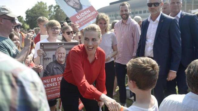 Mette Frederiksen vince elezioni in Danimarca (Ansa)