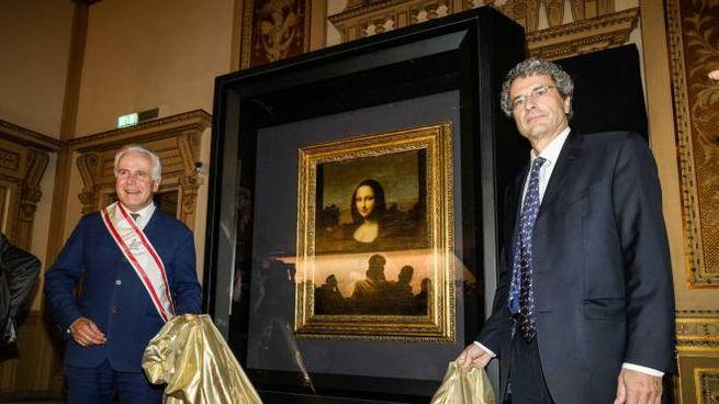 Eugenio Giani con Markus Frey (Foto Giuseppe Cabras/NewPressPhoto)