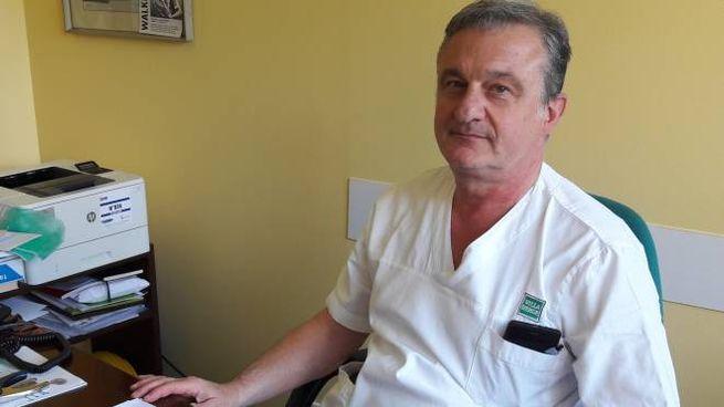 Il dottor Antonio Laganà, ortopedico di Villa Verde