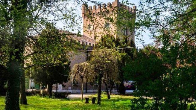 Una veduta della quattrocentesca Delizia fatta costruire dal marchese Niccolò III d'Este