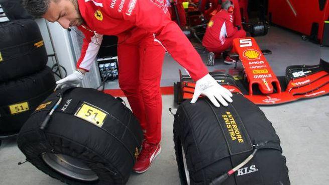 Ferrari, scelta gomme (Lapresse)