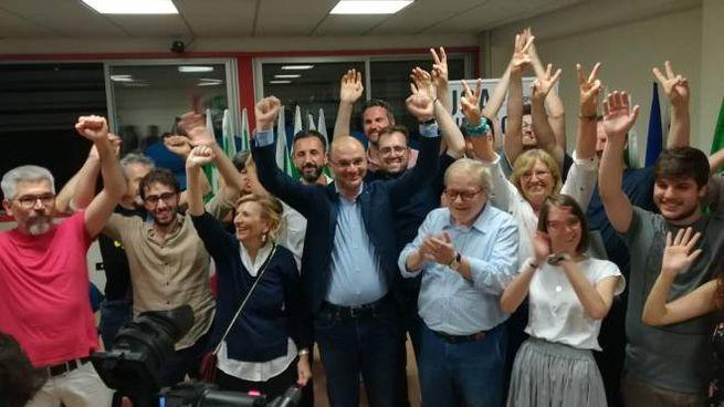 Reggio Emilia, Vecchi si conferma sindaco (Foto Dire)