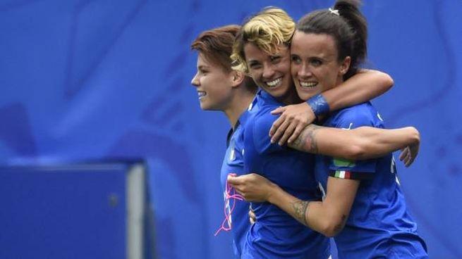 Mondiali di calcio femminile, Italia batte Australia 2-1 (LaPresse)