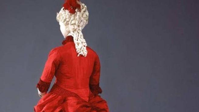 Un abito storico del Museo della Moda e del Costume di Palazzo Pitti