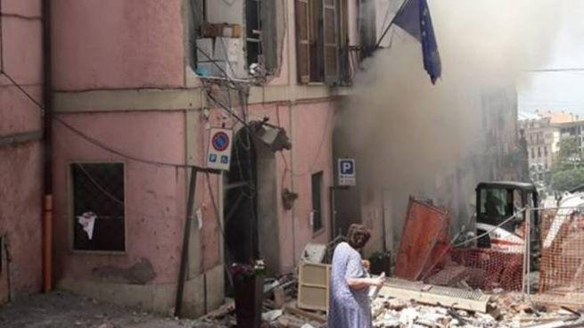 Esplosione nel palazzo del Comune di Rocca di Papa (Dire)