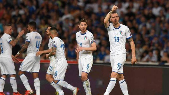 L'Italia cerca la quarta vittoria di fila in questo qualificazioni a Euro 2020 (Lapresse)