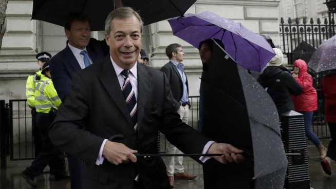 Nigel Farage (Ansa)