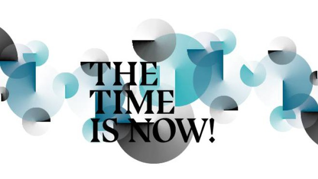 Il logo di The Time is Now!