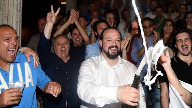 Fabbri nuovo sindaco di Ferrara (Foto Businesspress)