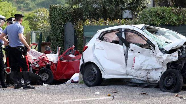 Pesaro, tre morti in un incidente stradale (Fotoprint)