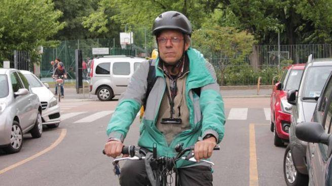Carlo Tedeschi in vesta da rider (Torres)
