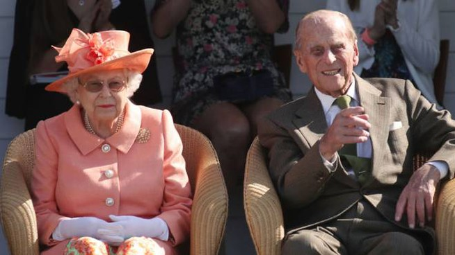La regina e il principe nel 2018