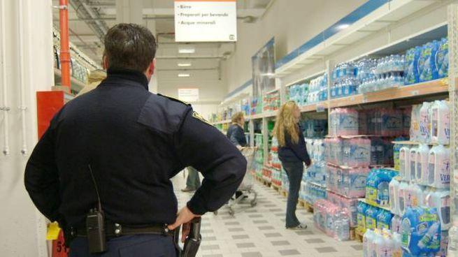 Vigilantes al supermercato