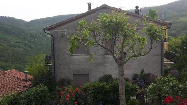 Apecchio, la casa di Luciana Simoncelli, trovata morta in casa